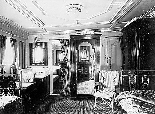 RMS Mauretania Regal Suite